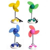 free shipping  3 computer usb fan small fan mini fan cartoon mute usb electric fan