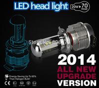 Set H4 XENON CREE  Light Bulb Ballast Car White 6000K High/Low Beam Headlight Fog 12V Canbus No error