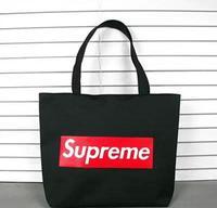 Men and women shoulder bag backpack schoolbag Tide brand casual canvas travel bag tide couple shopping bags