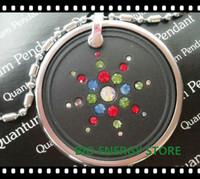 L007 18pcs/lot Colorful starry star with original card quantum lava scalar energy pendant