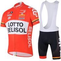 2014 Bike Team Cycling Suit Cycling Wear Jersey+Bib Shorts Cycle Bicycle Sportswear Clothing
