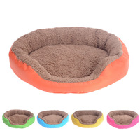 New Arrival Pet Bed Soft Material  Dog Mat Pet House Cat Warming Bed Puppy Sleeping Nest FreeShipping Pet Product 5 Color