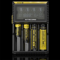 2014 New Nitecore D4 Digicharger LCD Display Battery Charger Universal Nitecore Charger+Free shipping+tracking number