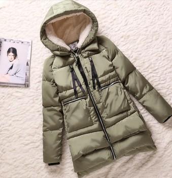 2014 Winter thickening parkas Женщины's wadded jacket outerwear Модный slim Хлопок-padded ...