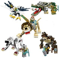 2014 New CHIMA God Beast 10068-10072! Educational Assembling Building Blocks Toys! Children's Holiday Gift, Free shipping