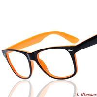 2015 New Hot Sale Women/men without lens myopia glasses frame Retro ultra-light eyeglasses frame Eyeglasses Spectacle Frame