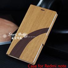 2015 novos produtos Xiaomi Redmi nota de orginal Naturalmente caso do estilo de madeira para nota Redmi , frete grátis(China (Mainland))