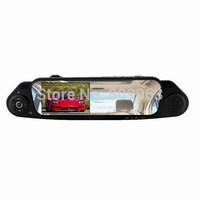 Free Shipping 5000C Novatek Car DVR Car Rear view Mirror Camera Recorder DVR with 4.3 inch TFT Screen 1920x1080p 170 Degree Lens