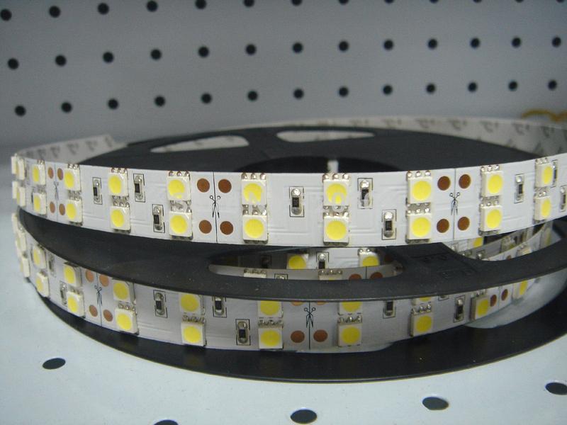 5m 600 LED 5050 SMD 12V non-water proof 5050 flexible light 120 led/m,LED strip, white/warm white(China (Mainland))