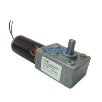 12v DC Gear Motors of Miniature Low-speed 8RPM Motor Robot with Metal Worm Gear Box deceleration speed motor car motor