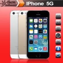 iPhone5 Unlocked Original Apple iPhone 5 Mobile Phone 4″ IPS 16G/32G Used Phone 8MP 4G GPS IOS Multi-Language Cell Phones