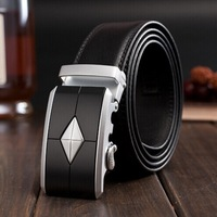 2014 New Famous Brand designer genuine leather belt for men ,  man's fashion casual metal male belts cinto Y01