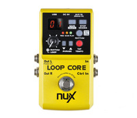 New Arrivals NUX Loop Core Effect Pedal Built-in Drum Patterns with TAP Tempo Free Shipping