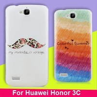 Huawei Honor 3C case,Big tooth brand painted series back cover case for Huawei Honor 3C Free shipping