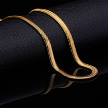 2014 new popular fashion necklace with 18 k gold plating snake lady/man necklace love the best gift xl001