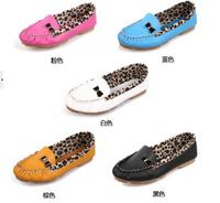 Free Shipping Hot  2014 Europe  Women fashion Leopard shoes womens fashion sexy shoes loafers women flats