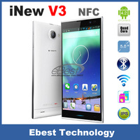 "Original Inew V3 MTK6582 Quad Core Smartphone 5"" HD Screen 1GB/16GB Android Cell Phones 13MP Camera NFC OTG Mobile Phone"