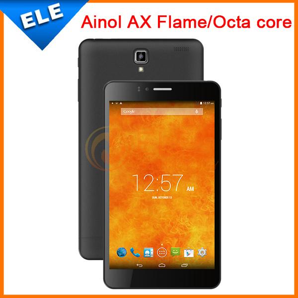 "Original 7"" Ainol Fire Flame MT6592 Octa Core 1GB+16GB IPS screen Android4.4 Bluetooth GPS 3G ainol novo 7 fire flame Phone Call(China (Mainland))"