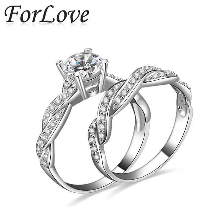 Кольцо ForLove CZ 925 100% R751 кольцо myth mode r 2013122402 cz r 2013122402
