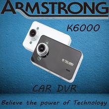 "K6000 Car Camera Novatek Chipset/1920*1080P Full HD/ 2.7"" HD Screen/ 25FPS/G-Sensor/Night Vision/140 Wide Angle Lens Car Dvr(China (Mainland))"