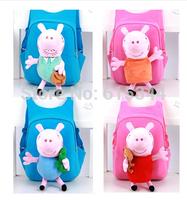 2014 fashion Peppa pig Backpack children school bags girls boys children cartoon bag mochila infantil mochila peppa pig bolsas