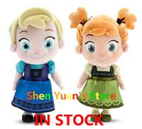 "New Coming Frozen Kid Elsa Anna Plush Doll 30cm 11.9"" Princess Doll Frozen Plush Toys Brinquedos Kids Dolls for Girls"