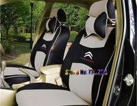 LOGO+NEW FOR Citroen Picasso Elysee Triumph senna sega C4C5c2 car dedicated car seat cover