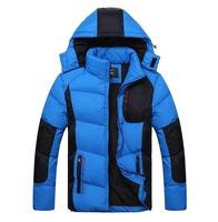2014 new mens fashion slim jackets cotton wadded thicken winter sports outwear man plus size warm clothing 2xl 3xl 4xl