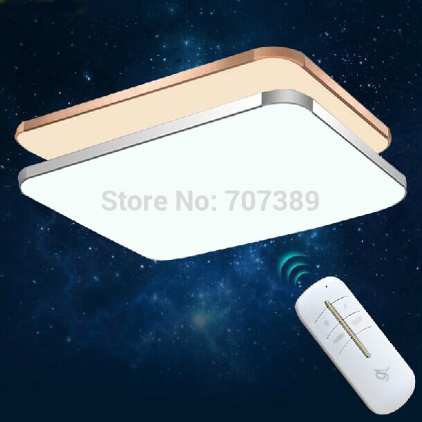 12/23/24/68/72/144W Aluminum Alloy&PAMMA Acryl Lamp Body,Rectangular&Square Shape Energy-saving LED ceiling light,ceiling lamp.(China (Mainland))