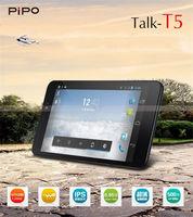 Pipo T5 Talk 3G Tablet PC Android 4.2 Phone 6.95 inch MTK8382 Quad Core Dual Camera Dual Sim 1G RAM 8GB ROM GPS Bluetooth WiFi