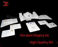 2014 Fashion Jewelry dispaly showcase Pendant Necklace Display Kit Pendant Holder Necklace Stand Counter Display Props Set