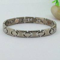 Stainless Steel Gold Filled Luxury Charm Bangles Men's Bracelet