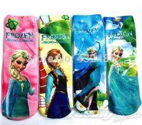 Baby cartoon frozen socks long socks Elsa Anna lovely children socks baby wear free shipping 12ps/lot