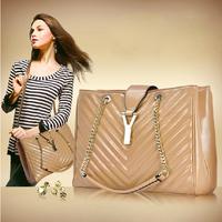 New 2014  Women Handbag Genuine Leather Bags Women Messenger Bags Fashion Embossed Bag Women's Leather Handbags Free Delivery