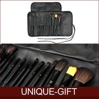 Rosalind New 2014 Makeup 15 Pcs Soft Synthetic Hair Make up tools kit Cosmetic Beauty Makeup Brush Set Case free shipping