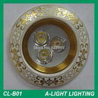 3W Ceramic Ceiling downlight LED ceiling lamp Recessed Spotlight 85V-265V for home illumination Freeshiping
