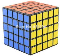 Shengshou 5x5x5 Puzzle Black Cube magic cubes 5x5x5 layer---Free shipping