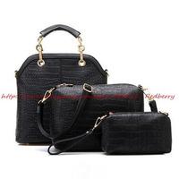New 2015 Luxury Alligator Women Messenger Bags Fashion Women Handbag New Classic Women Tote Bolsas Shoulder Bag Crossbody Bag