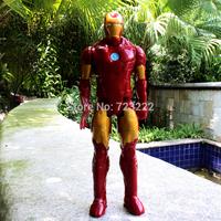Iron Man Movie Spiderman 30CM PVC Iron Man Action Figures Action Toy Figures Retail Box