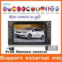 2 din Car DVD Automotivo GPS For Kia Rio Sportage Cerato Sorento W/GPS Navigation+Radio+Audio+Stereo+Audio+central multimidia