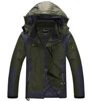 Hot 2014 autumn and winter men down jacket casual outdoors Ski-wear mountaineering waterproof coat