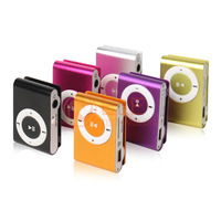 8 colors MINI Clip MP3 Player sport music mp3 With Micro TF Card Slot With Mini MP3 2014 New Hot Sale