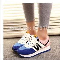 Spring 2014 joker sneakers N letters han edition of forrest gump shoes bottom single female leisure sports shoes sponge