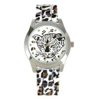 7 colors Fashion Watch Classic Silicone Watch Women Leopard Wristwatches Casual Sexy Women Girls Ladies Quartz watch dropship