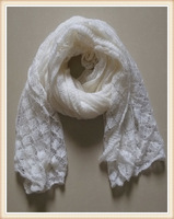 Fashion style very warm woolen yarn women winter scarf