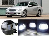 eCityBuy Infiniti G Series Q5-Lens Fog Lights LED Guide Daytime Running Lights -2PCS