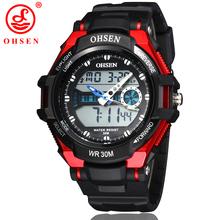Nueva hombres mujeres deportes relojes LED Digital de cuarzo alarma fecha día cronógrafo moda Unisex ejército militar exterior reloj
