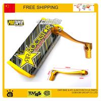 Dirt pit monkey bike pro taper pad + alloy gear shift lever xmotos apollo kayo taotao buyang linhai accessories free shipping