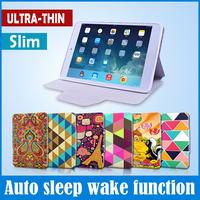 Hotsale Smart Flip Case For Ipad Mini 1 2 Ultra Thin Leather Cover For Apple For Ipad Mini Hot Auto Weak Up Skin