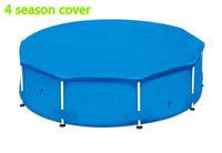 Intex 10ft Round Solar Cover for Frame Above Ground Swimming Pools Pool Thermal